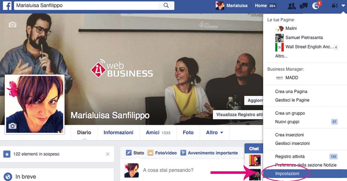 Come attivare Graph Search di Facebook