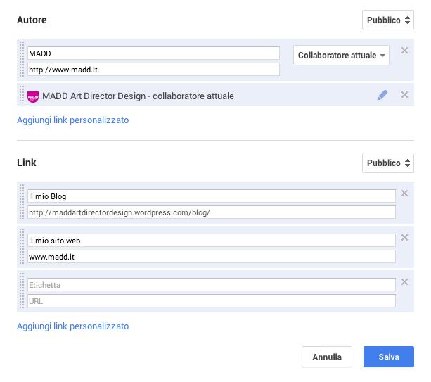Authorship collegare il proprio blog a google +
