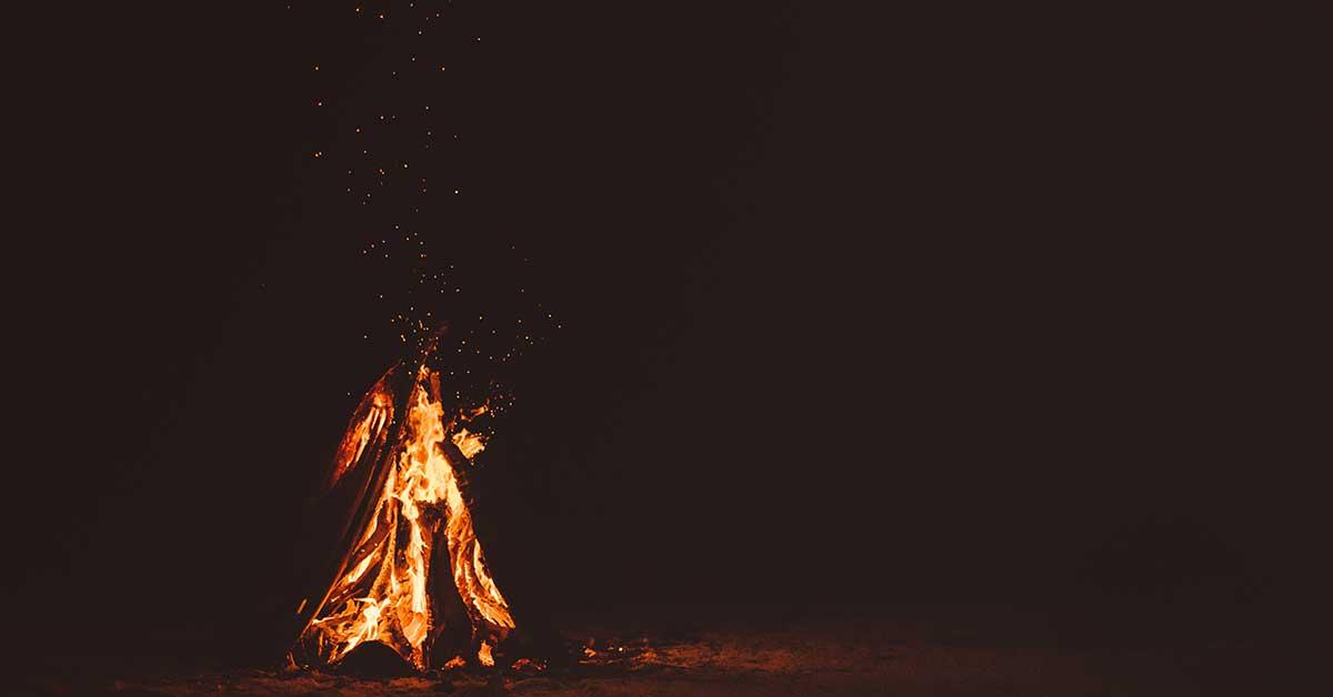 il fuoco in continuo mutamento